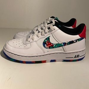 Air Force 1 Low GS 'Crayon White Multi'